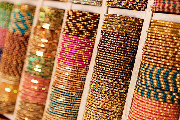 Colorful beads bangles for sale